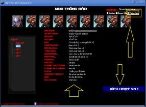 Hướng Dẫn Thay Đổi Thông Báo Trong Game Liên Minh Huyên Thoại :wow
