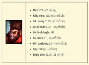 Lên đồ và cách chơi Wukong ở vị trí MID và TOP