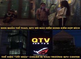 Shin cùng ca khúc Vết Mưa chuẩn bị cho ngày khai trương QTV Center