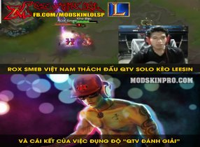 Kèo Hot khi Rox Smeb Việt Nam thách đấu với QTV và cái kết