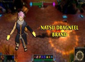 Mod Skin Brand Natsu Dragneel hóa thân cùng Hội Pháp Sư Fairy Tail